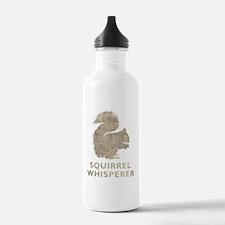 squirrelwhisperer1Bk Water Bottle