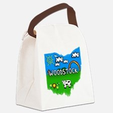 Woodstock Canvas Lunch Bag