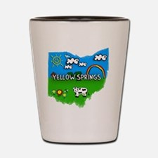 Yellow Springs Shot Glass