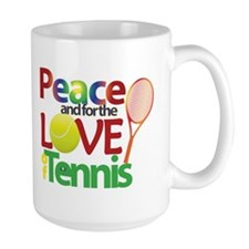 For the Love of Tennis Mugs