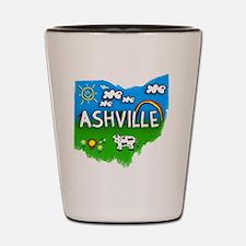 Ashville Shot Glass