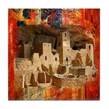 Adobe Cliffs Tile Coaster