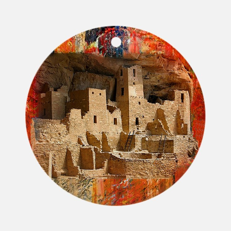 Adobe Cliffs Ornament (Round)