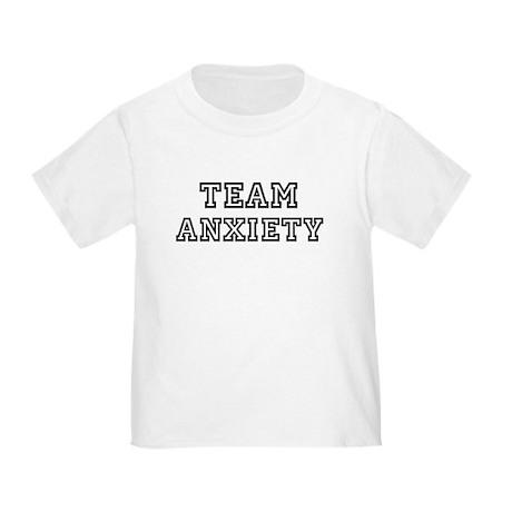 Team ANXIETY Toddler T-Shirt