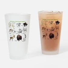 Animals of the Polar Regions Drinking Glass