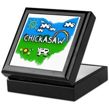 Chickasaw Keepsake Box