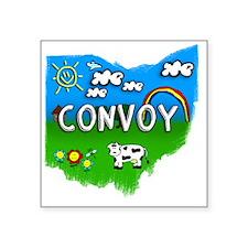 """Convoy Square Sticker 3"""" x 3"""""""