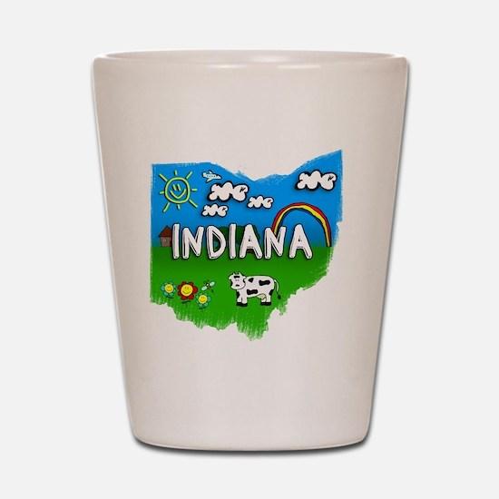 Indiana Shot Glass