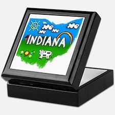 Indiana Keepsake Box