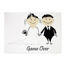 Game over 5'x7'Area Rug