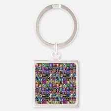 wall Square Keychain