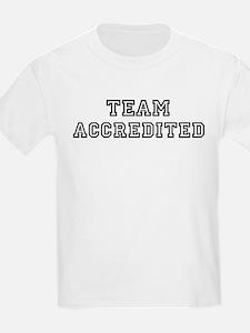 Team ACCREDITED Kids T-Shirt