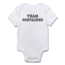 CONTAINED is my lucky charm Infant Bodysuit