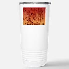 samurai chic king duvet Stainless Steel Travel Mug