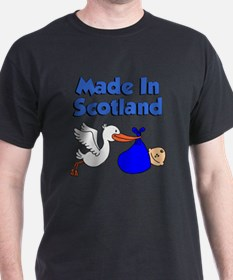 Made In Scotland Boy T-Shirt