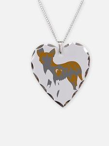 African Wild Dog Necklace