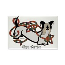 SkyeTerrier-Color Rectangle Magnet