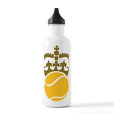 tennisball_crown Water Bottle