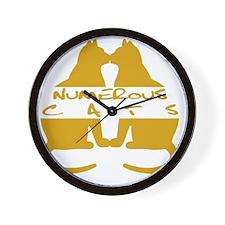 Numerous Cats Wall Clock