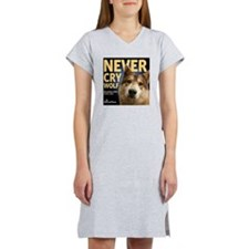 Never Cry Wolf Women's Nightshirt
