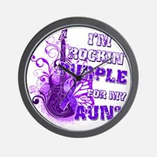 Im Rockin Purple for my Aunt Wall Clock