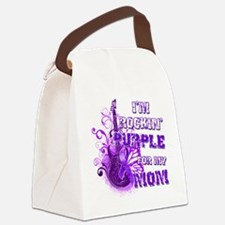 Im Rockin Purple for my Mom Canvas Lunch Bag