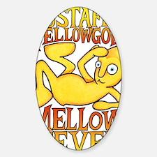 Mellow Fever Album Art Sticker (Oval)