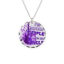 Im Rockin Purple for my Uncl Necklace