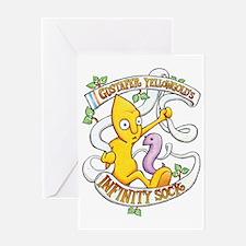 Infinity Sock Album Art Greeting Card
