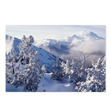 Mountain top, Mount Raini Postcards (Package of 8)