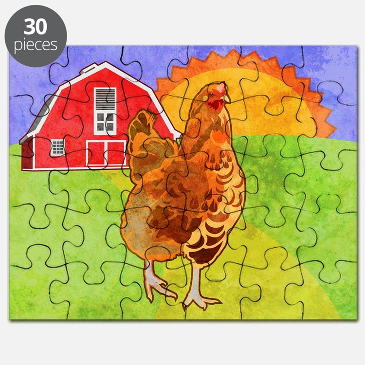 duvetKingRooster Puzzle