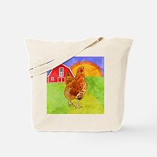 duvetKingRooster Tote Bag