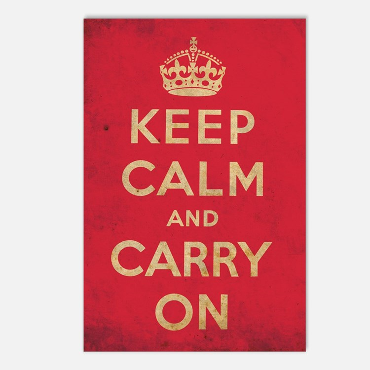 keepcalm21 Postcards (Package of 8)