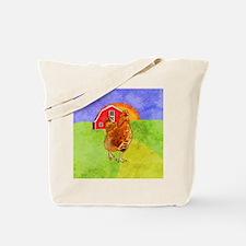 squareRooster Tote Bag
