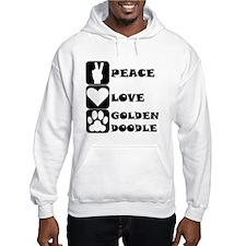 Peace Love Goldendoodle Hoodie