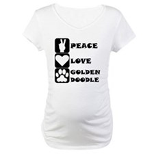 Peace Love Goldendoodle Shirt