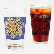 Flower Drinking Glass