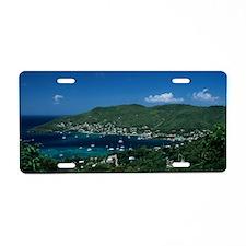 Bequia, Caribbean Islands,  Aluminum License Plate