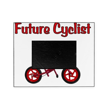 Future_Cyclist_boy Picture Frame