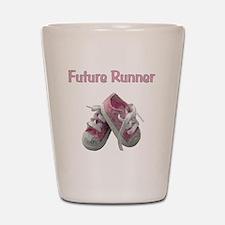 Future_runner_girl Shot Glass