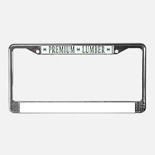 back License Plate Frame