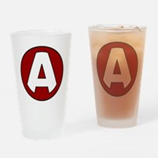 SuperA Drinking Glass