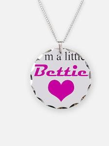 ImALittleBettieHeart10x10in Necklace