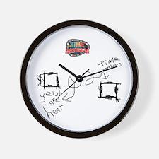 Time-Masheen Wall Clock