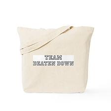 Team BEATEN DOWN Tote Bag