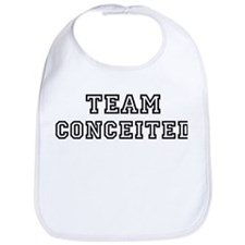 CONCEITED is my lucky charm Bib