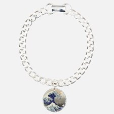 Hokusai_Great_WaveKing1 Bracelet