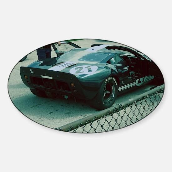 GT40 Sticker (Oval)