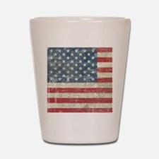 vintageAmerica4Shower1 Shot Glass