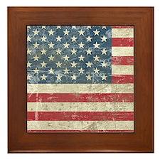 vintageAmerica4Shower1 Framed Tile
